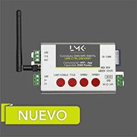 Controlador DMX-WIFI